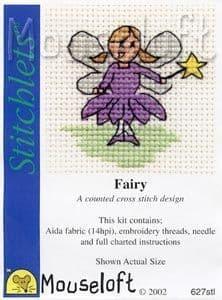 Mouseloft Fairy Stitchlets cross stitch kit